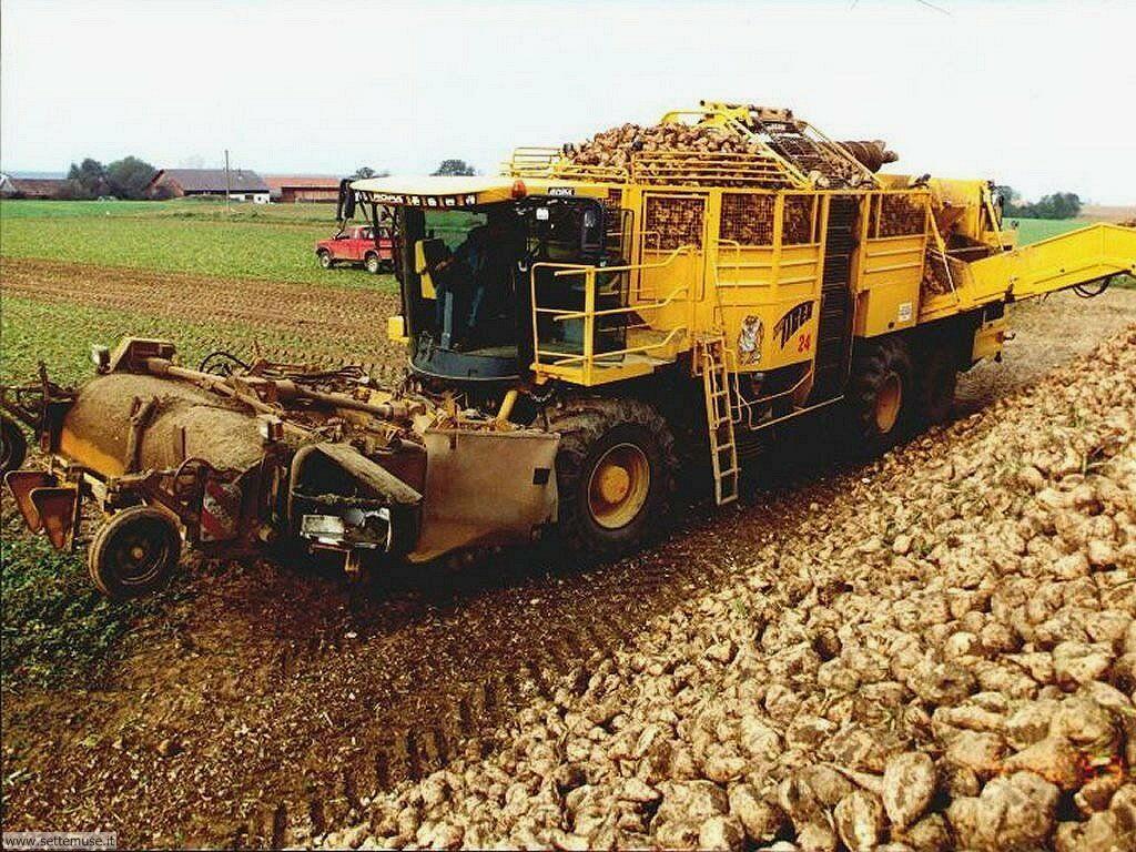foto di mezzi agricoli per sfondi