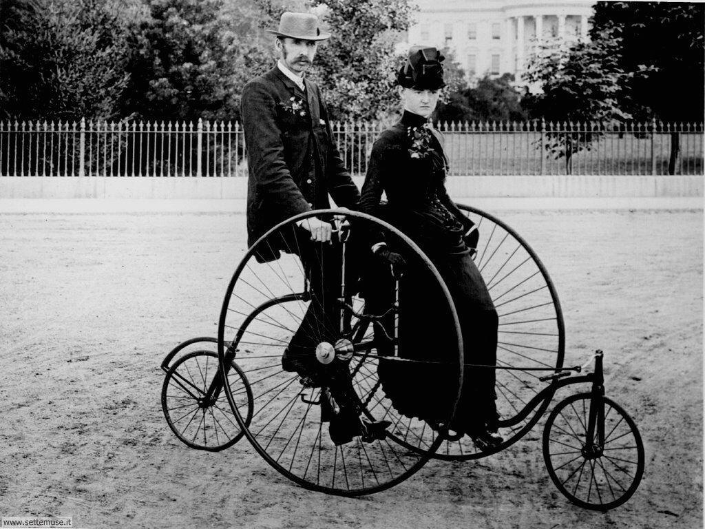 foto di cicli e biciclette per sfondi