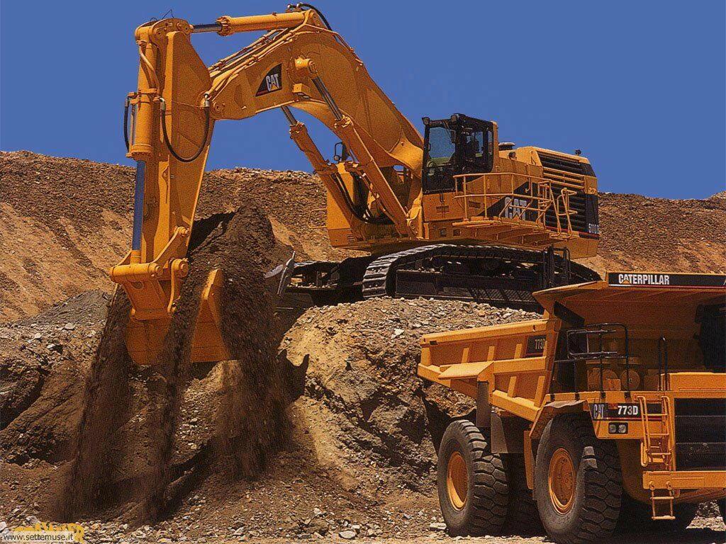 Foto mezzi movimento terra per sfondi - Foto di grandi camion ...
