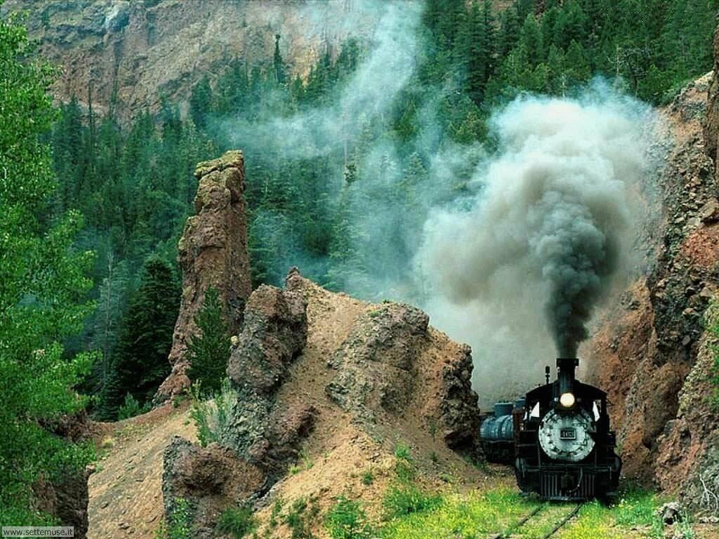 foto di treni per sfondi