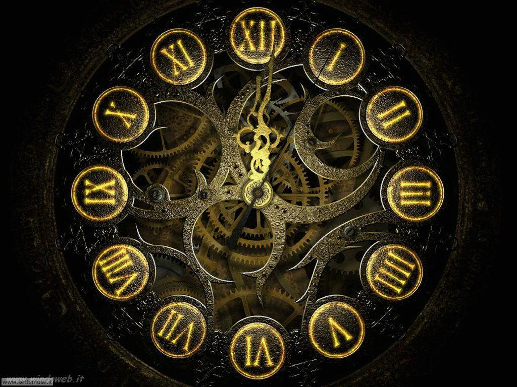 sfondo orologio