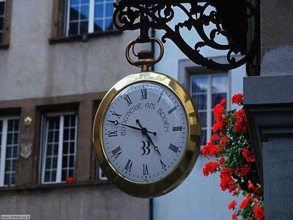 foto per sfondi di orologi 028