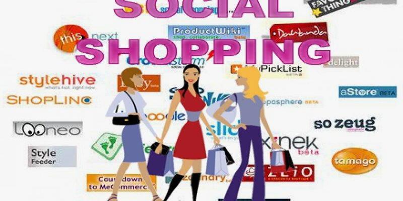 foto viaggi con social shopping