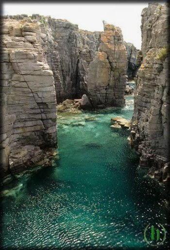 piscine naturali conca carloforte sardegna