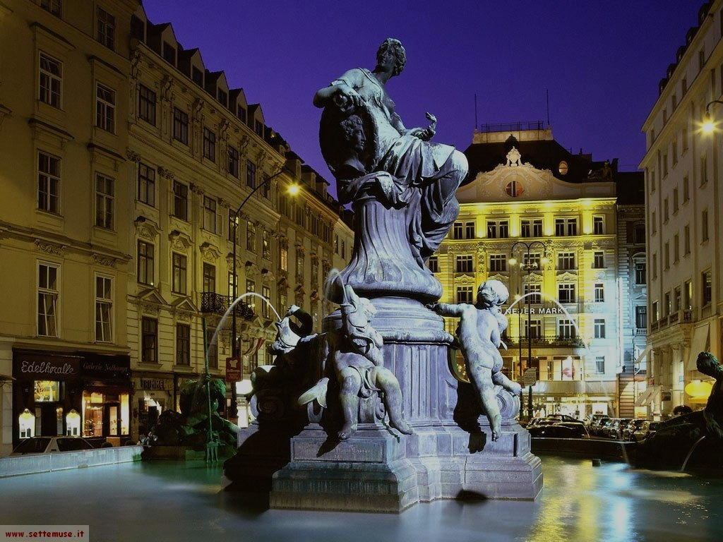 vienna Donner Fountain