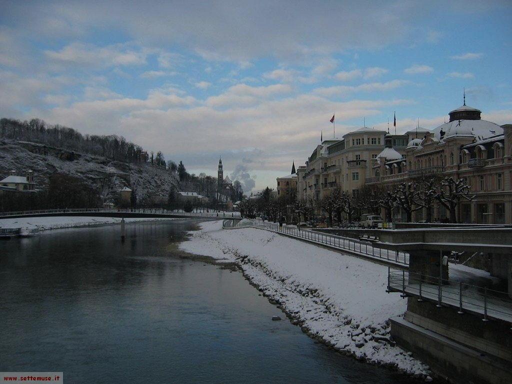 Salisburgo fiume Salzach
