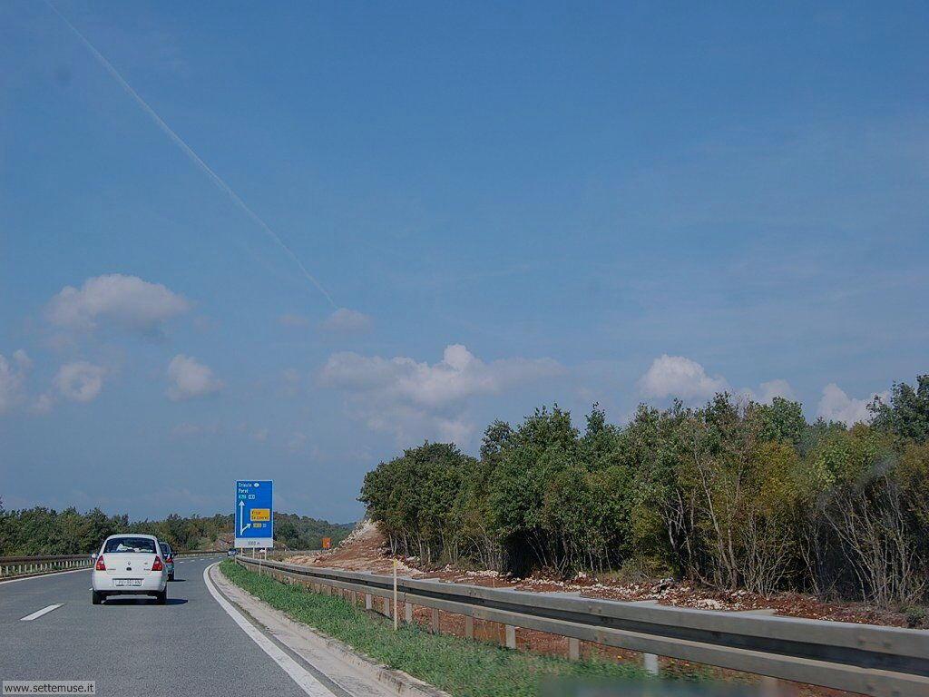 Croazia Autostrada B9 Istria