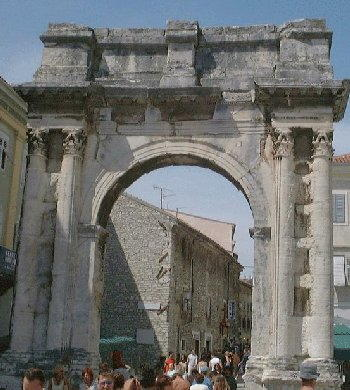 Pula - Arco dei Sergii