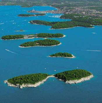 Rovigno - Le isole