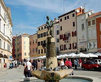 Rovigno - Piazza