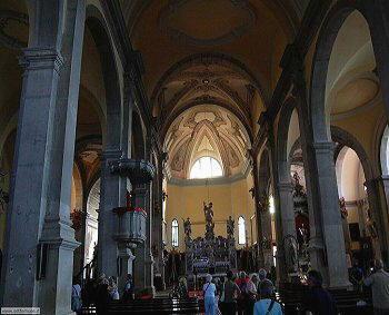 Rovigno - Interno di Sant'Eufemia