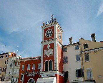 Rovigno -Torre dell'Orologio