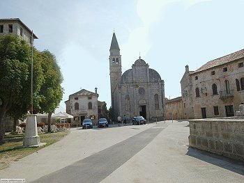 Sanvincenti (Sveti Vincenat) - la Chiesa parrocchiale