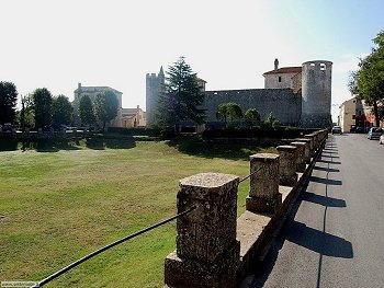 Sanvincenti (Sveti Vincenat) - Accesso al borgo