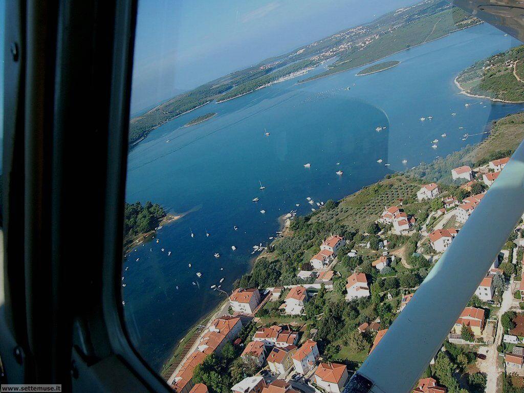 foto Croazia vista in volo