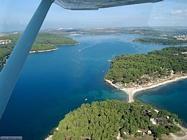 Croazia in volo da Medulin a Pula