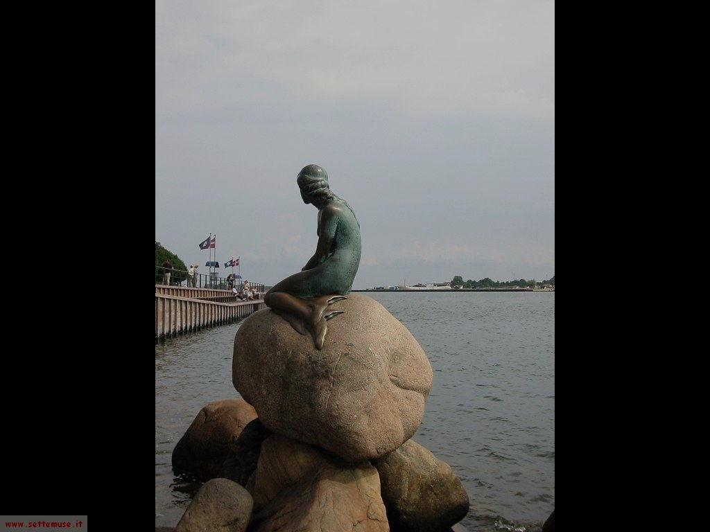 Danimarca copenhagen sirenetta 049