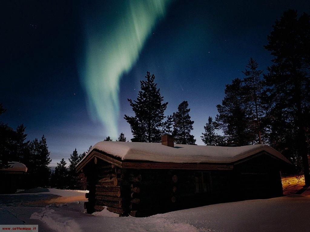 foto Finlandia 1 aurora boreale