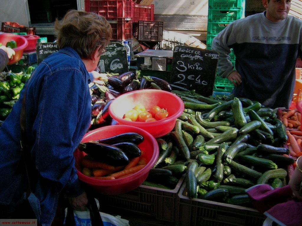 foto mercato francese