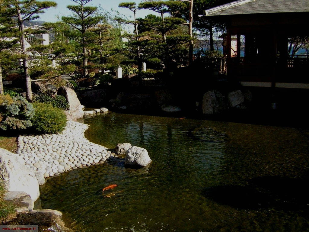 foto Francia Monaco giardini giapponesi