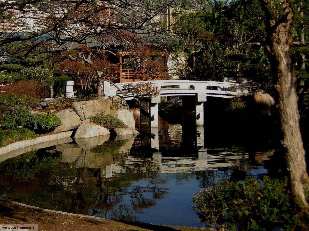 foto Monaco giardini giapponesi