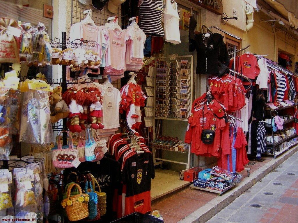 I negozi del Principato di Monaco