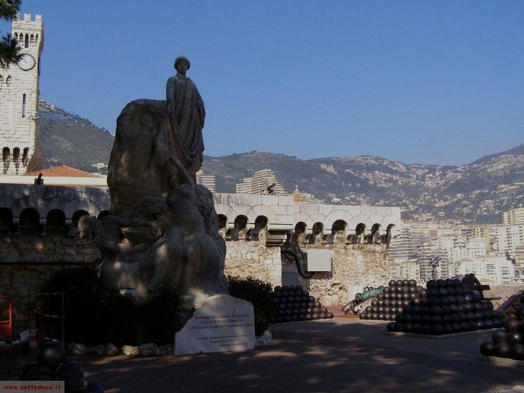 Panorama dal Principato di Monaco