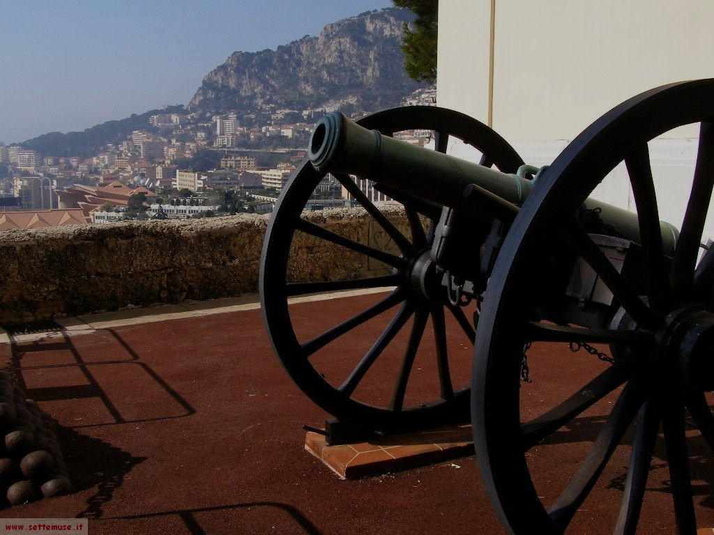 Cannone nel Principato di Monaco