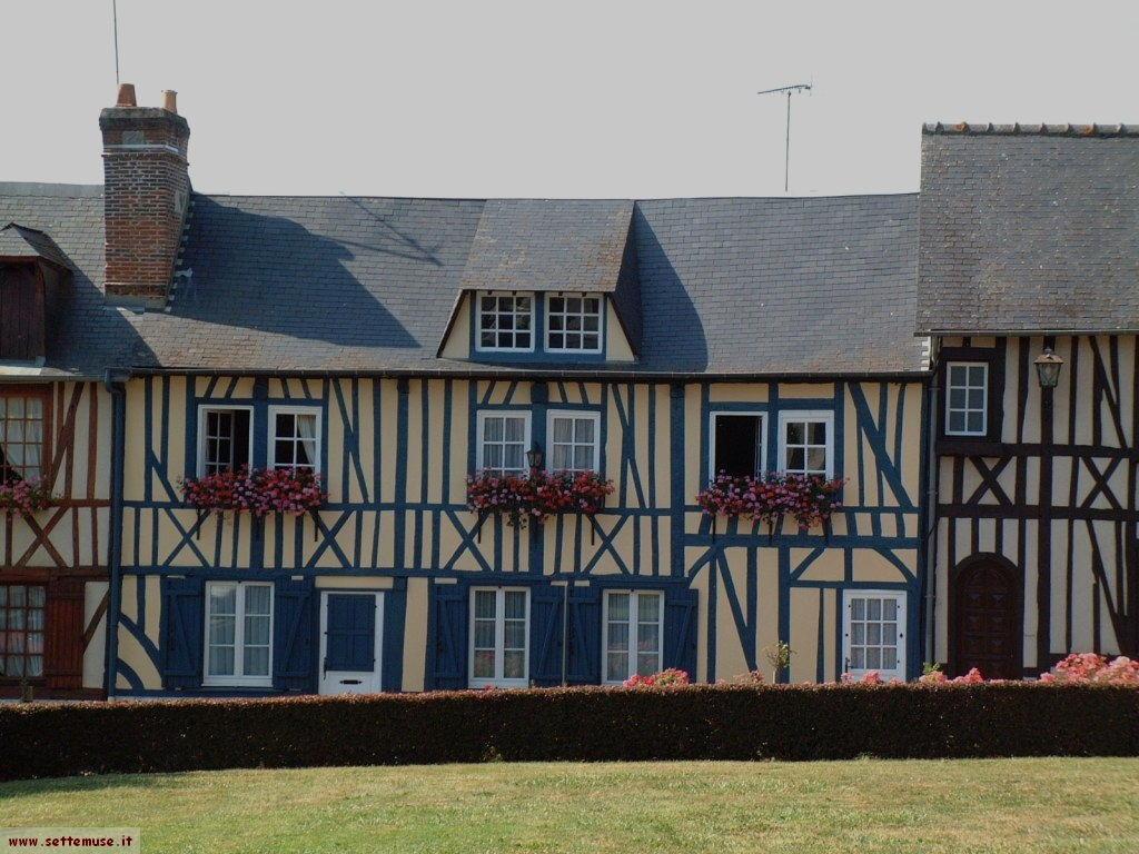 Normandia cosa vedere cosa fare in francia e foto sfondi for Case padronali francesi