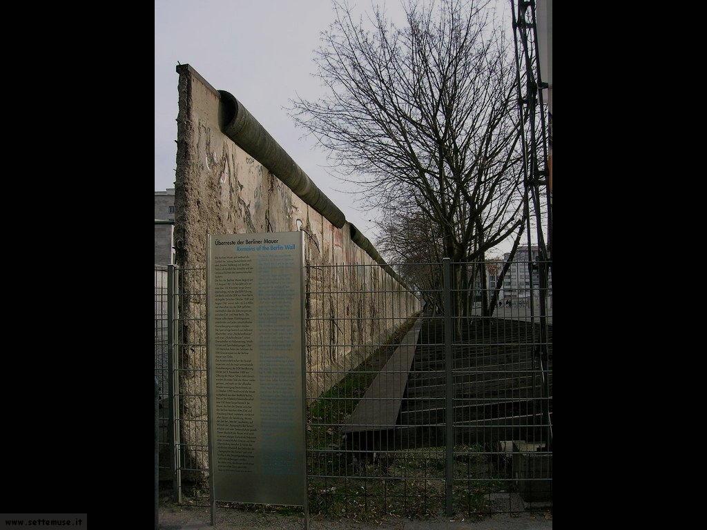 foto germania berlino il muro