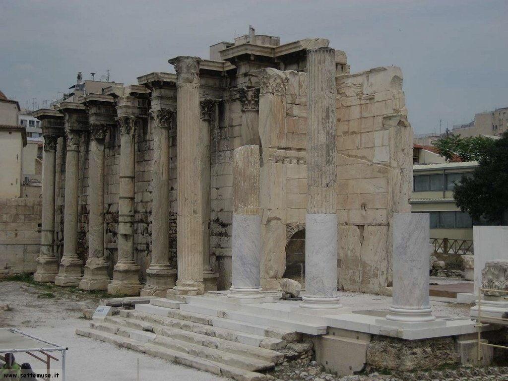 foto Grecia Atene libreria adriano