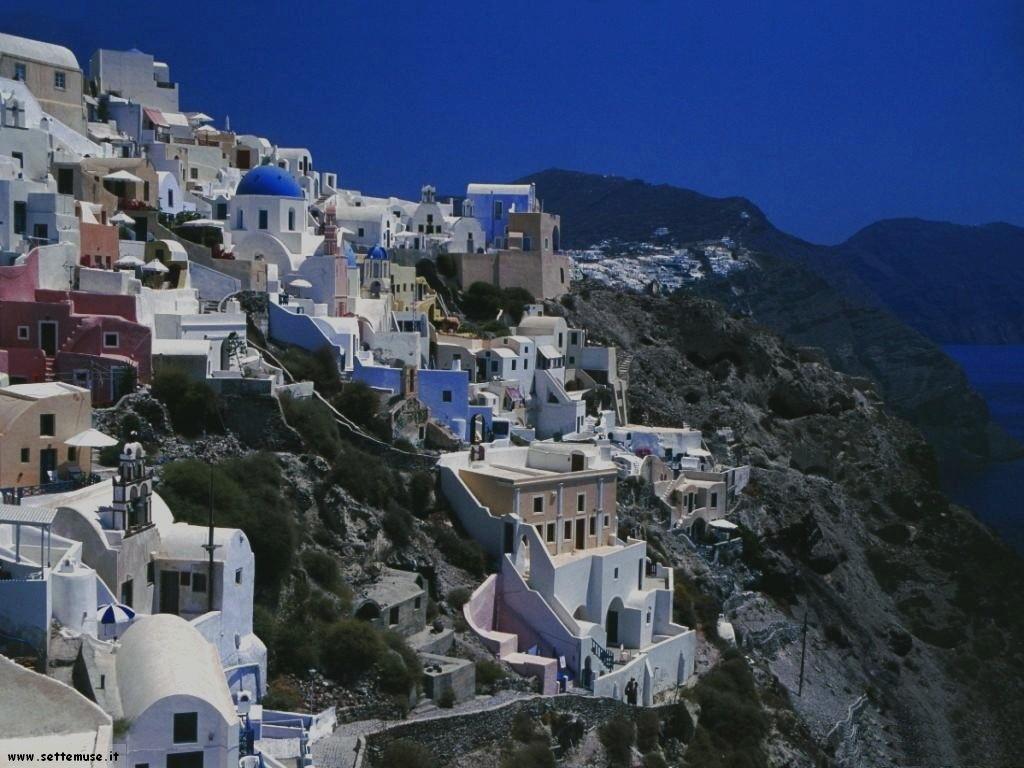 foto grecia varie località santorini