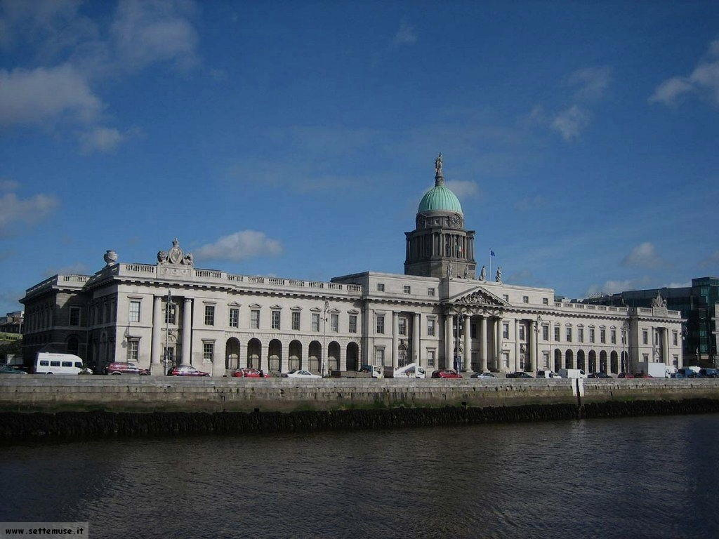 irlanda dublino customs house