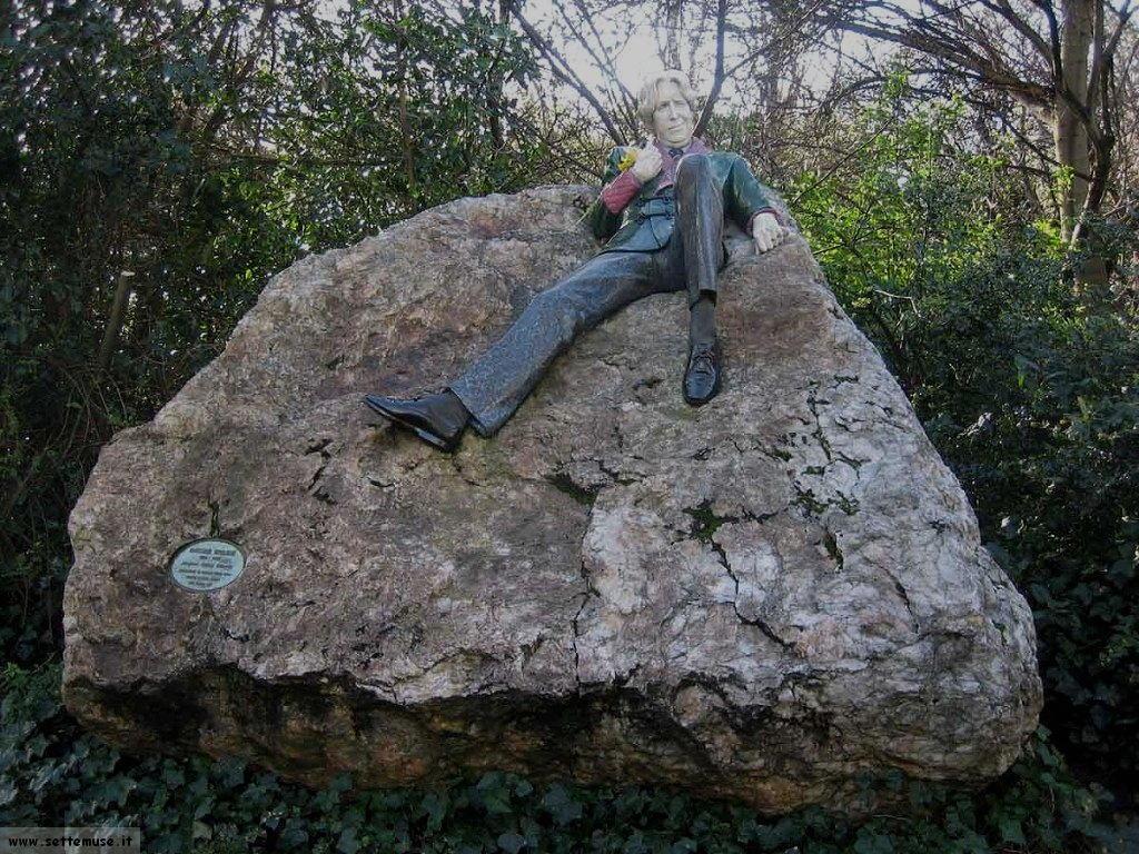 irlanda dublino statua oscar wile