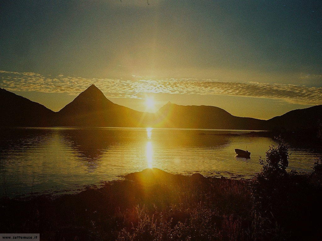 Norvegia guida su cosa vedere e cosa fare foto sfondi for Immagini sole da colorare