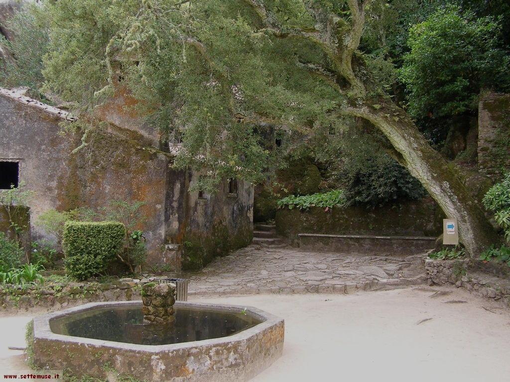 foto portogallo sintra convento dei cappuccini