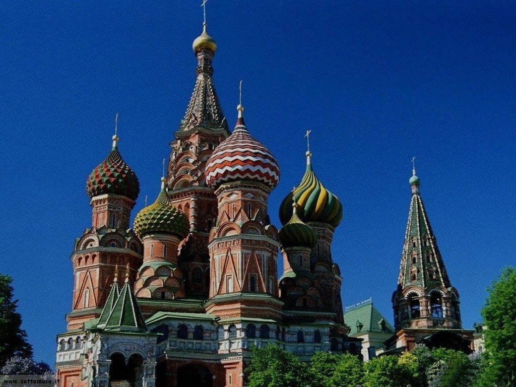 foto Russia Mosca san Basilio