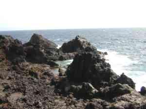 la costa lavica di tenerife