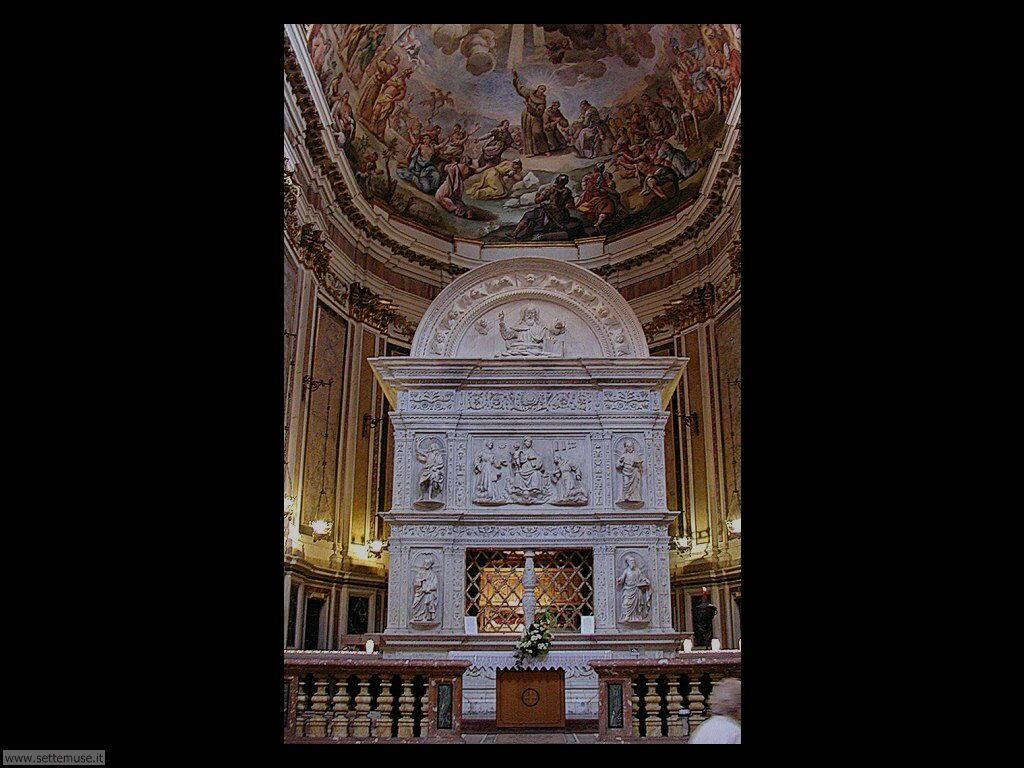 Altare della chiesa San Bernardino all'Aquila