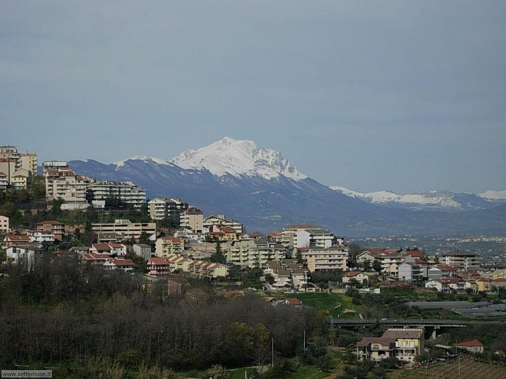 Gran Sasso d'Italia, visto da Chieti