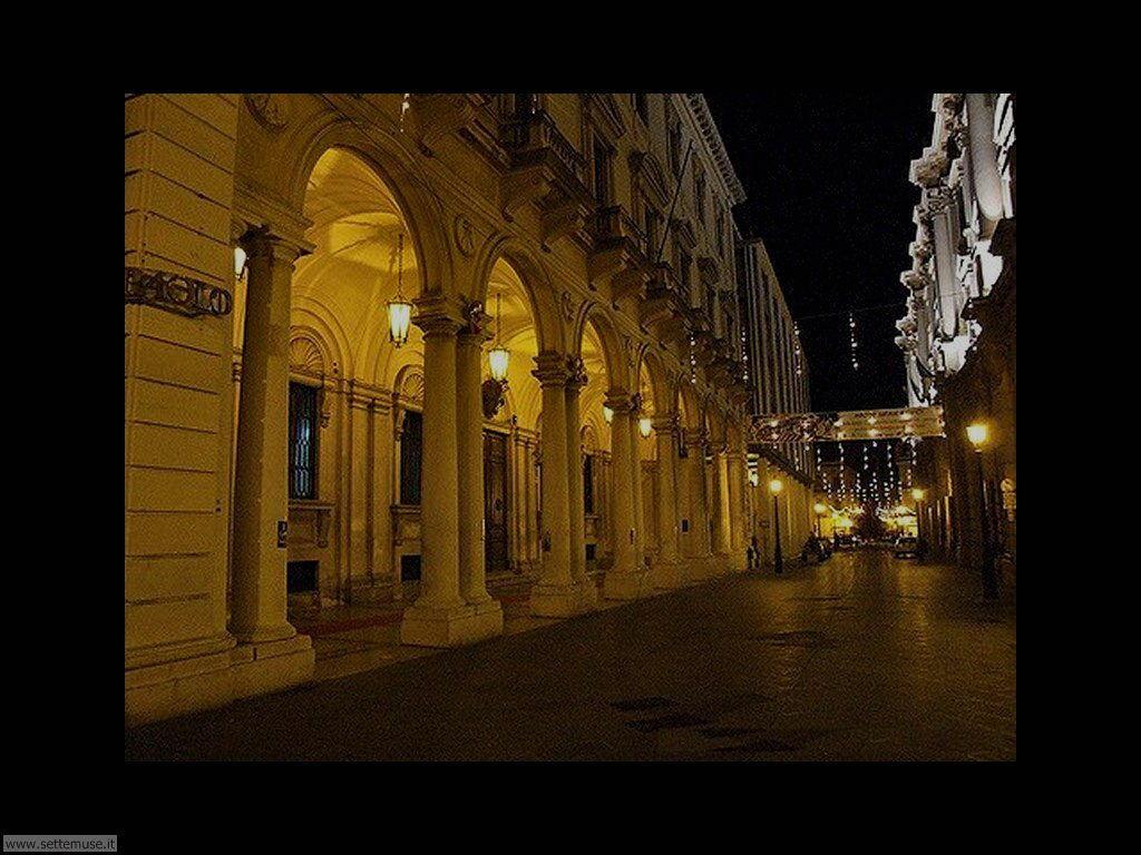 Immagine del Centro di Chieti visto di notte