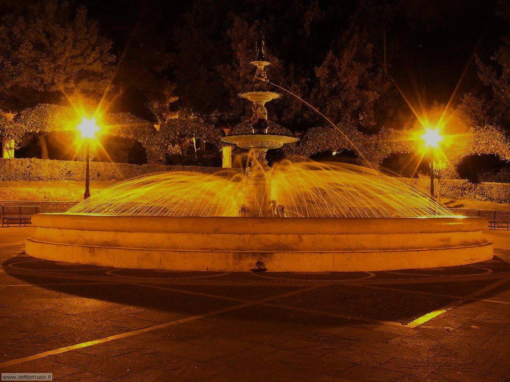 Fontana villa comunale di Chieti
