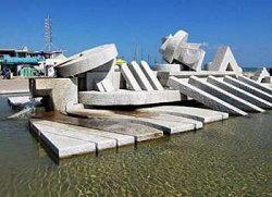 Pescara - La Nave - Fontana di Pietro Cascella