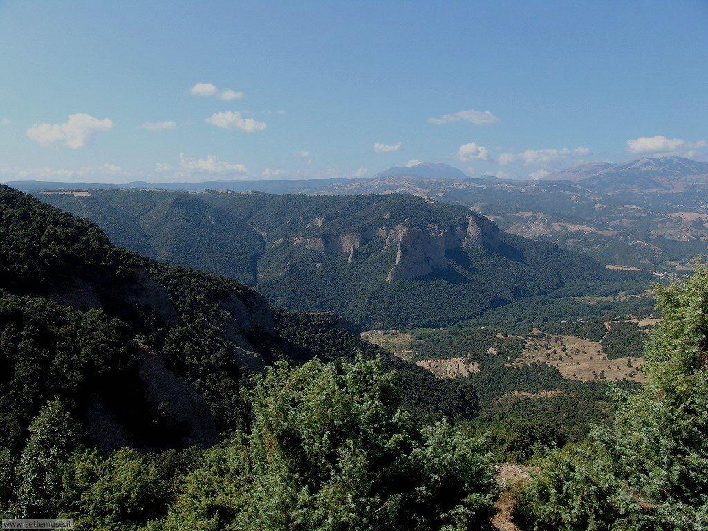 Potenza Gallicchio, valli della Basilicata