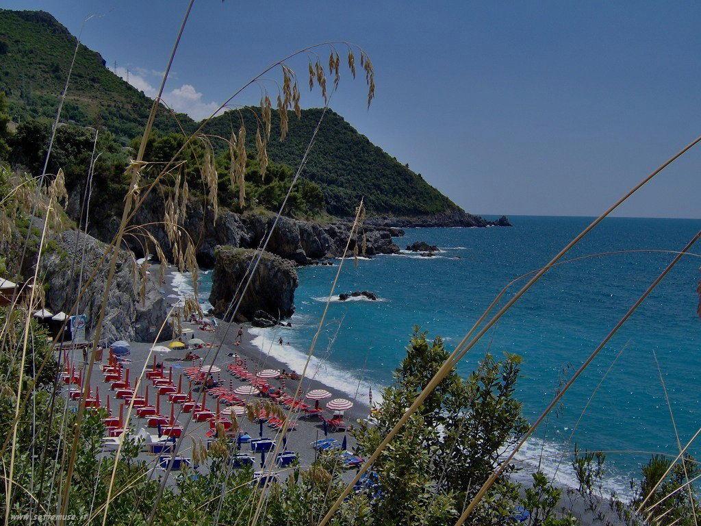 Panorama spiaggia Maratea