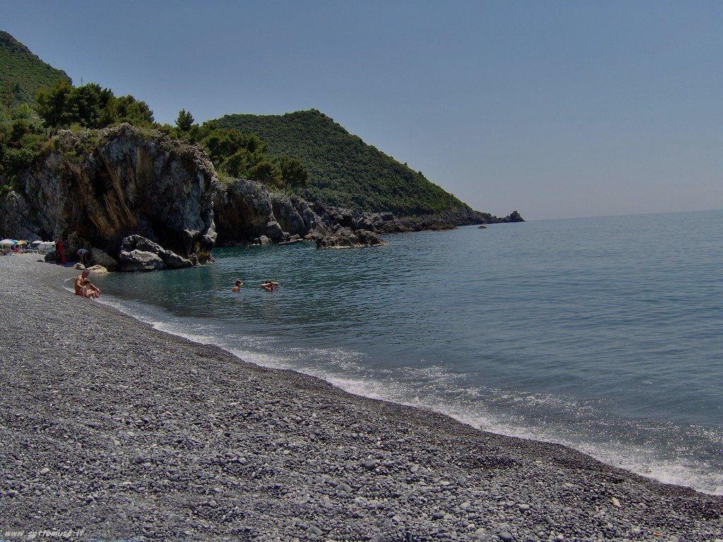 Maratea, foto di una spiaggia