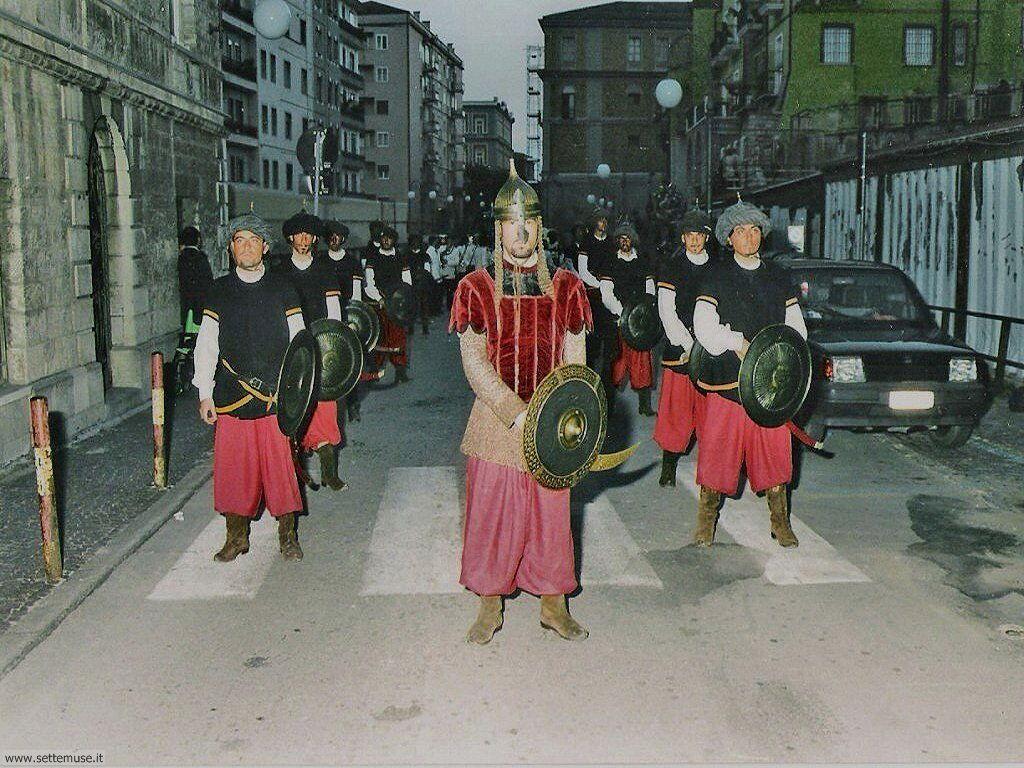 Sagre e feste a Potenza Sfilata dei turchi