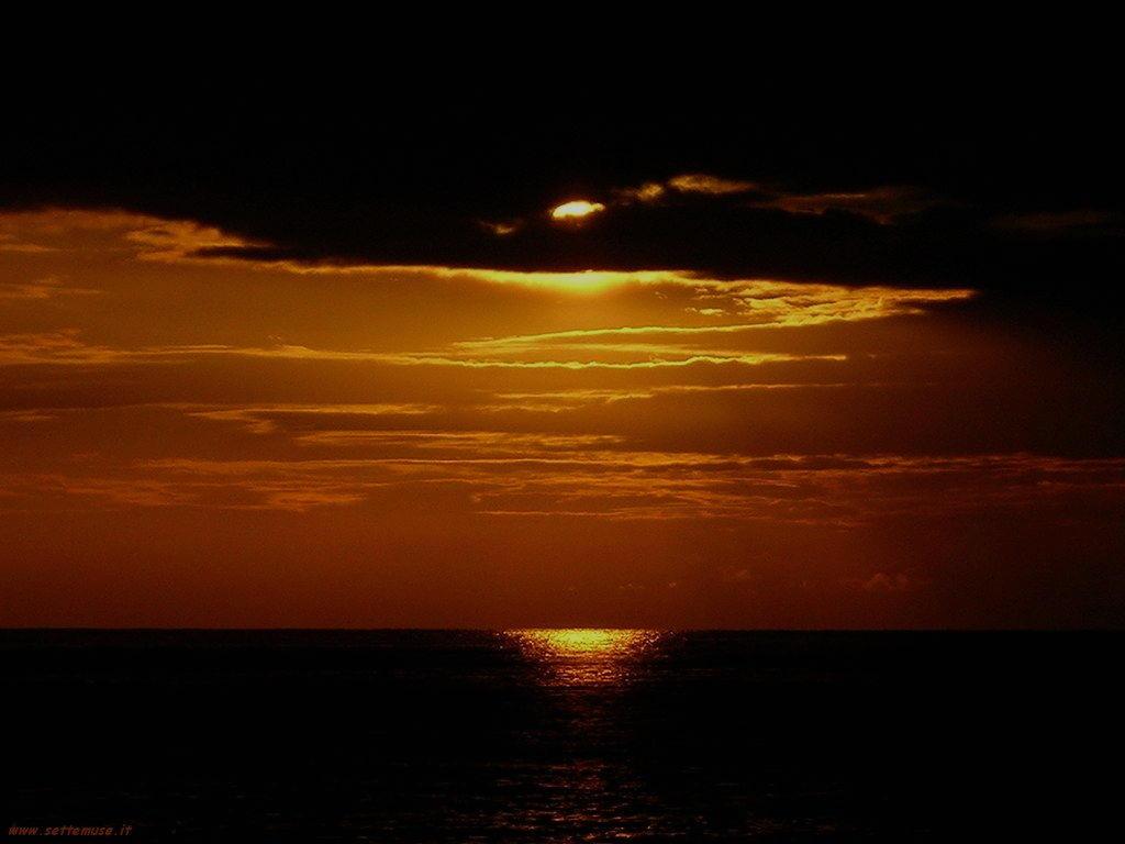 cosenza al tramonto