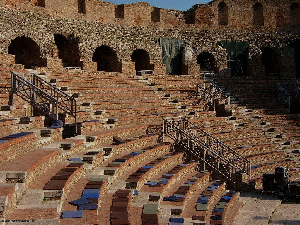 Benevento Teatro romano