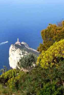 Capri - foto dal Monte Solaro